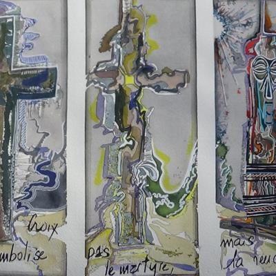 La croix ne symbolise plus le martyre, mais la rencontre.